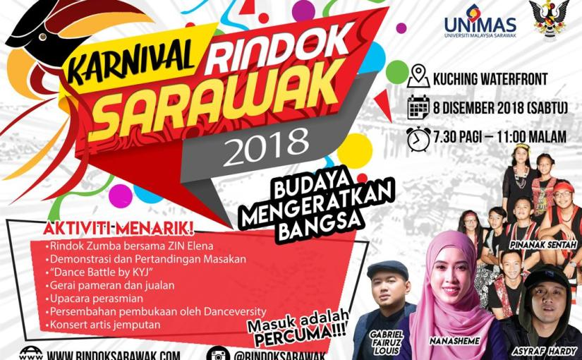 Karnival Rindok Sarawak2018